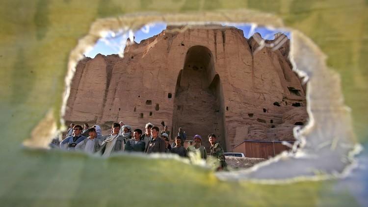 Foto, video: Las estatuas de Buda demolidas por los talibanes en Afganistán reviven como hologramas