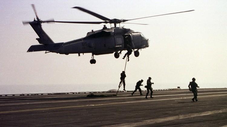 Los SEAL que eliminaron a Bin Laden utilizaron las hachas de 'El último mohicano'