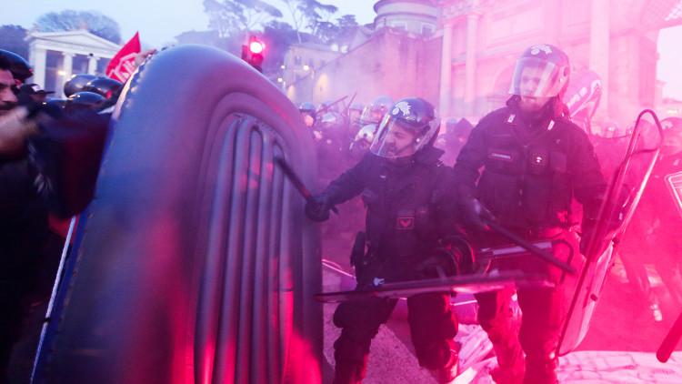 Protesta 'Ocupa'
