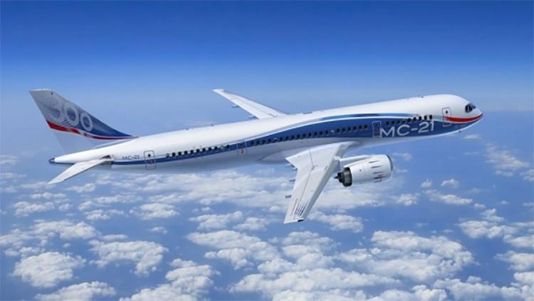 Avión ruso MS-21 en la mira de Europa y el mundo entero