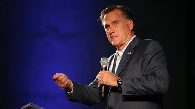 """Romney critica la estrategia informativa rusa: """"Enciendo el televisor y veo RT"""""""