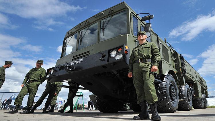 Rusia sopesa desplegar Iskander ante las acciones agresivas de EE.UU. en Europa