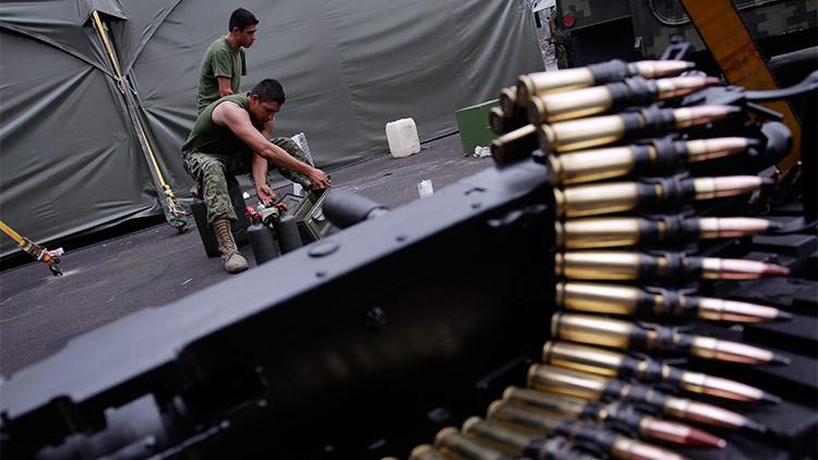 La fiebre de las armas de EE.UU. se dispara en México de la mano de Peña Nieto