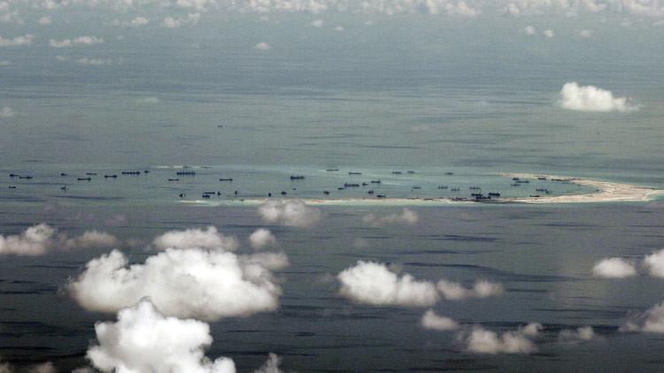 China afirma su intención de recuperar las tierras en el mar de China Meridional