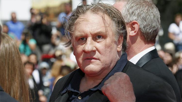 """Gerard Depardieu: """"Los europeos son infelices porque no tienen a Putin"""""""
