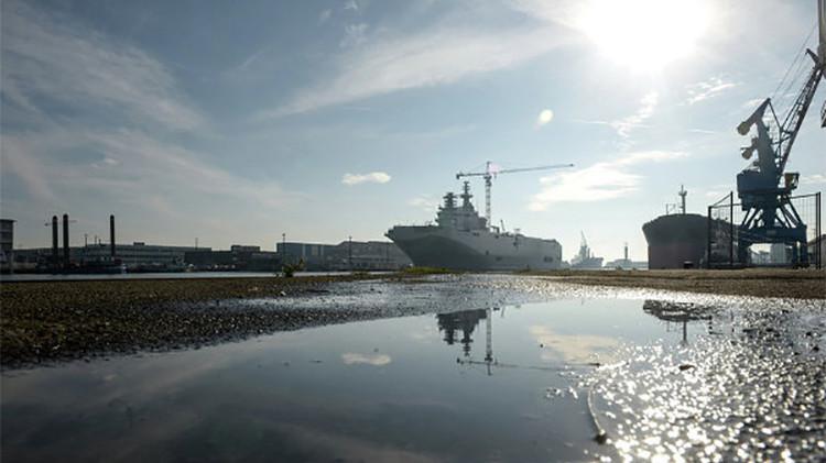 Rusia inicia la fabricación de sus propios portahelicópteros al estilo Mistral