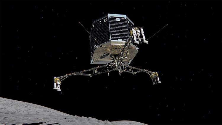 ¿Qué hizo despertar de su letargo al módulo espacial Philae?