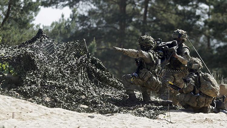 Se hunde un transportador anfibio polaco durante los ejercicios de la OTAN