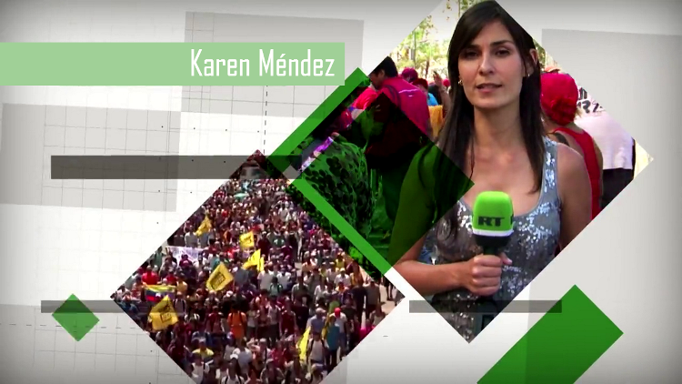 La corresponsal de RT, Karen Méndez, galardonada con el Premio al Periodismo Internacional