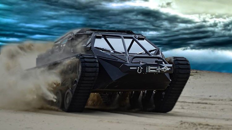 Sale a la venta el Ripsaw EV-2, el primer tanque comercial de lujo