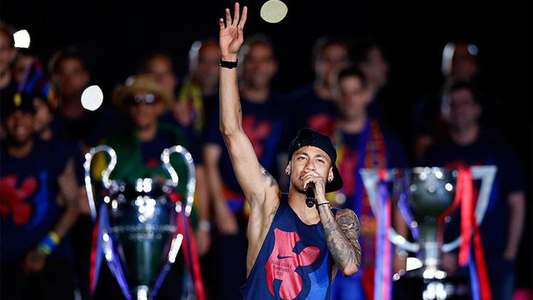 """Aceptan una nueva querella contra Neymar y al Barça por """"corrupción y estafa"""""""