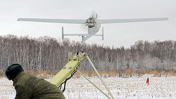 El Ejército ruso despliega sus drones de vigilancia en el Ártico