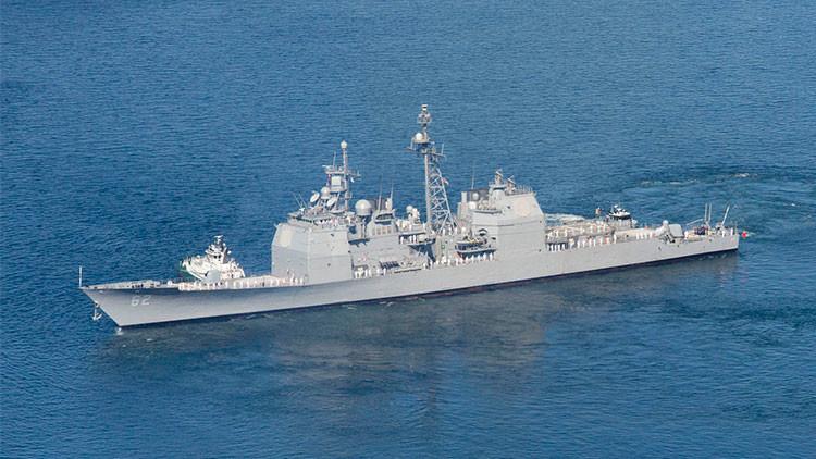 EE.UU. envía a Japón uno de sus más poderosos cruceros de misiles