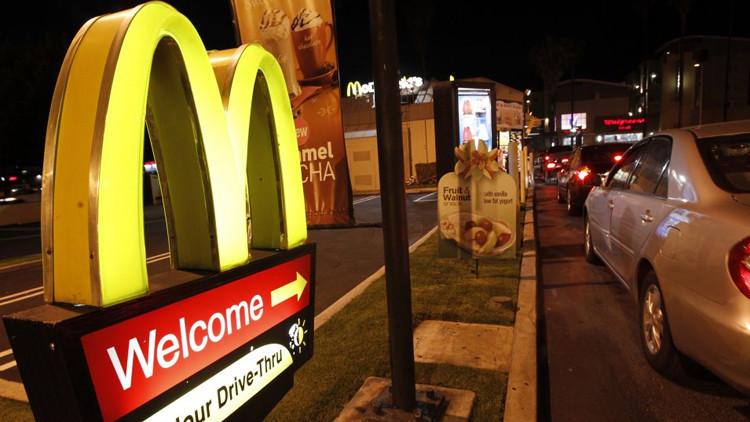 Número de restaurantes McDonald´s en EE.UU se reduce por primera vez