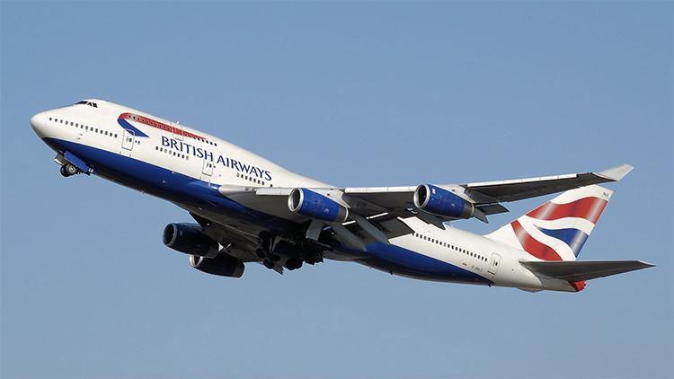 Cae en pleno vuelo un polizón desde un avión de British Airways después de viajar 11 horas
