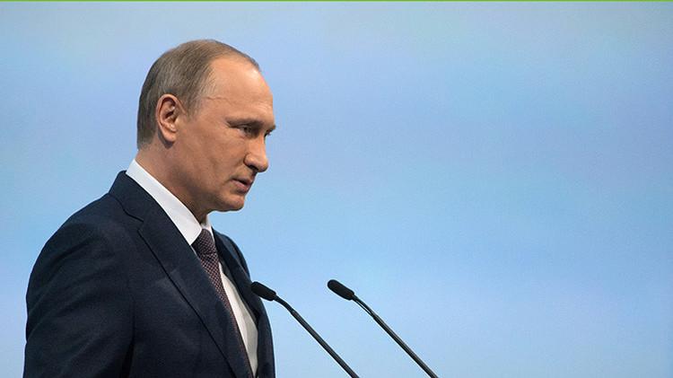 """Putin: """"¿EE.UU. sabe mejor que nosotros qué necesitamos? Permítanos decidir nuestros intereses"""""""