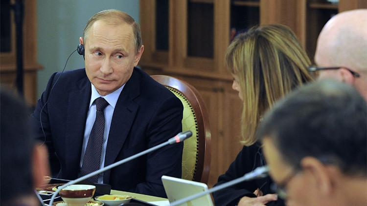 """Putin: """"La retórica belicista no implica un aumento del peligro nuclear"""""""