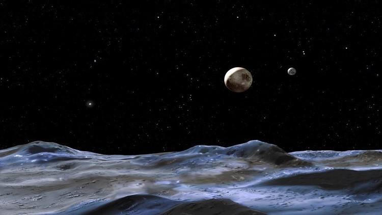 La NASA publica por primera vez un video en color de Plutón y su luna Caronte