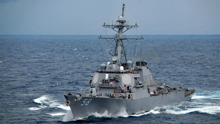 El buque de guerra Laboon de EE.UU. entra en el mar Negro