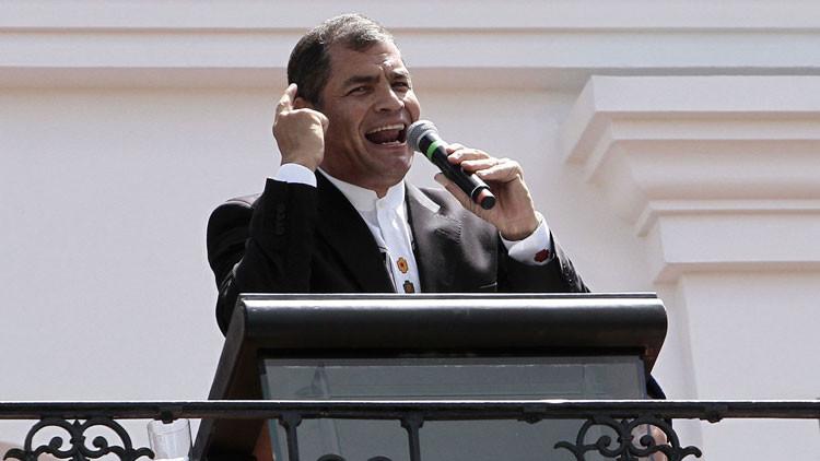 """Correa sobre el peligro de un golpe 'blando': """"Se los advertí hace un año"""""""