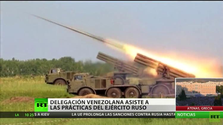 Delegación venezolana asiste a las prácticas del Ejército ruso en Siberia