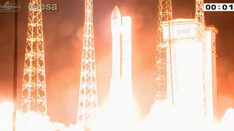 VIDEO: Lanzan el satélite Sentinel-2A para estudiar los efectos del cambio climático