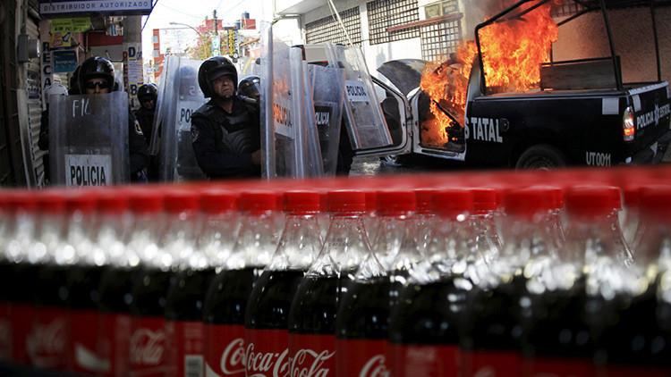 México: Coca-Cola y Volkswagen huyen de la violencia de Iguala