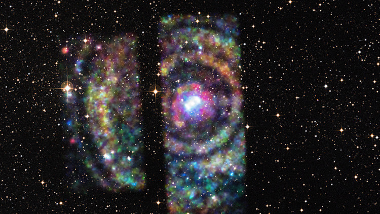 El Señor de los Anillos: NASA capta ecos de rayos X de una distante estrella de neutrones