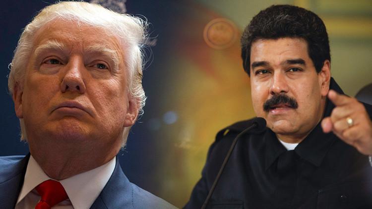 "Niсolás Maduro acusa a Donald Trump de financiar a ""la derecha interna"""