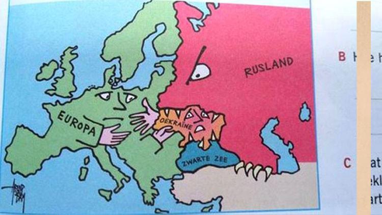 """Medios: Libros escolares neerlandeses presentan a Rusia como """"el mal"""""""