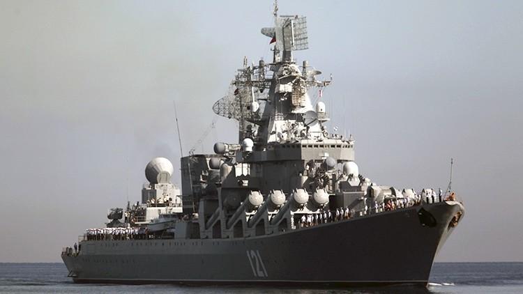El 'asesino' de portaaviones ruso lanzará misiles durante maniobras en el Atlántico