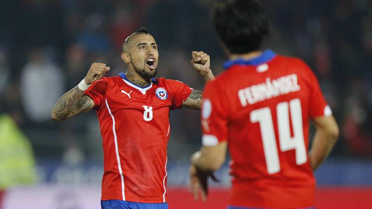 Chile, primer semifinalista de la Copa América tras vencer a Uruguay 1-0