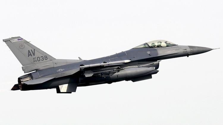 EE.UU.: Un F-16 de la Guardia Nacional se estrella en Arizona