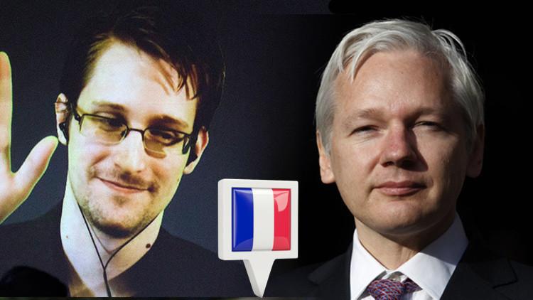 "Ministra francesa: ""Francia podría ofrecer asilo a Assange y Snowden"""
