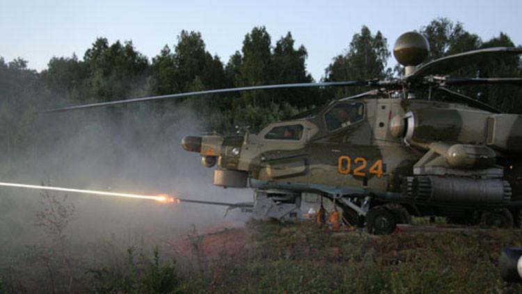 Helicóptero militar ruso Mi-28NM contará con un poderoso láser para desviar misiles