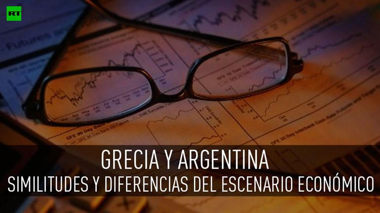¿Es el caso griego la repetición del escenario argentino, pero a una escala mayor?