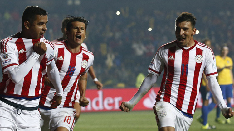 Paraguay, último semifinalista de la Copa América tras vencer a Brasil 3-4 en penaltis