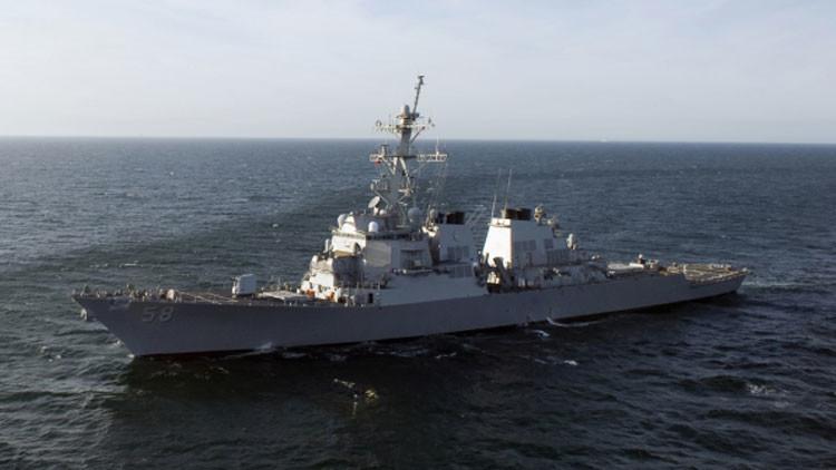 Destructor de la Armada estadounidense entra en el mar Negro