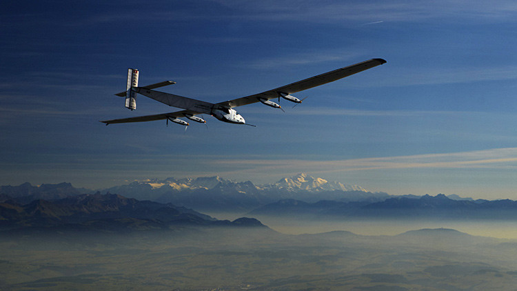 El avión Solar Impulse ll  reanuda su viaje a Hawái