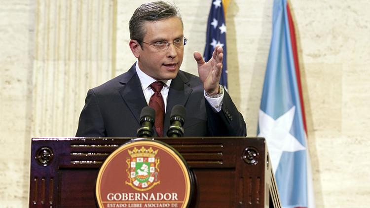 """El gobernador de Puerto Rico reconoce que la deuda de la isla es """"impagable"""""""