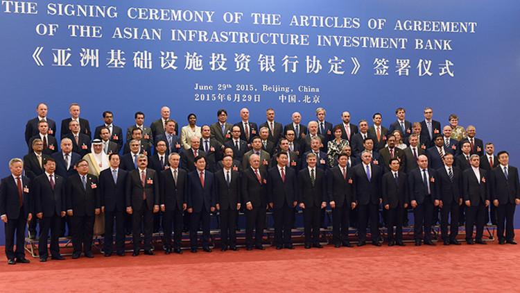 Se funda el Banco Asiático de Inversiones con Rusia como tercer mayor accionista