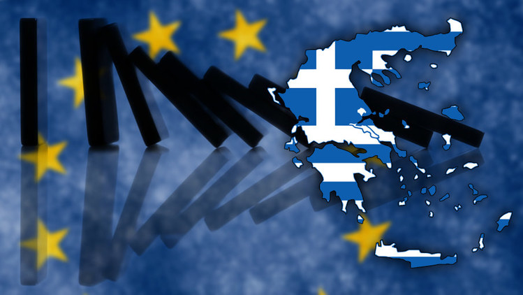 Grecia, pendiendo de un hilo