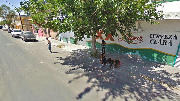 México: El presunto miembro de una red de trata, 'cazado' en una foto de Google Maps
