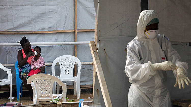 El virus del Ébola renace en Liberia