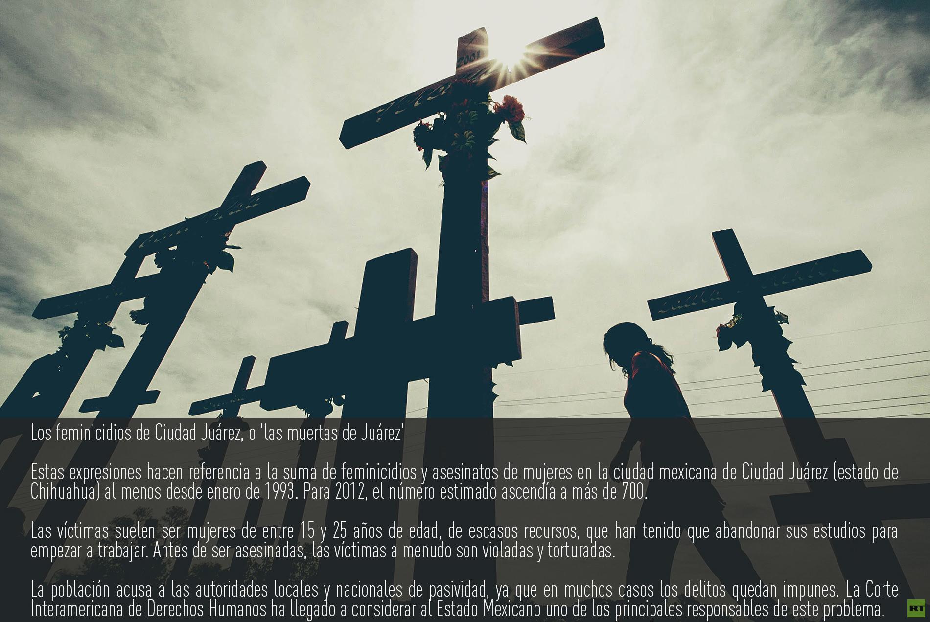 Los feminicidios de Ciudad Juárez, o 'las muertas de Juárez'