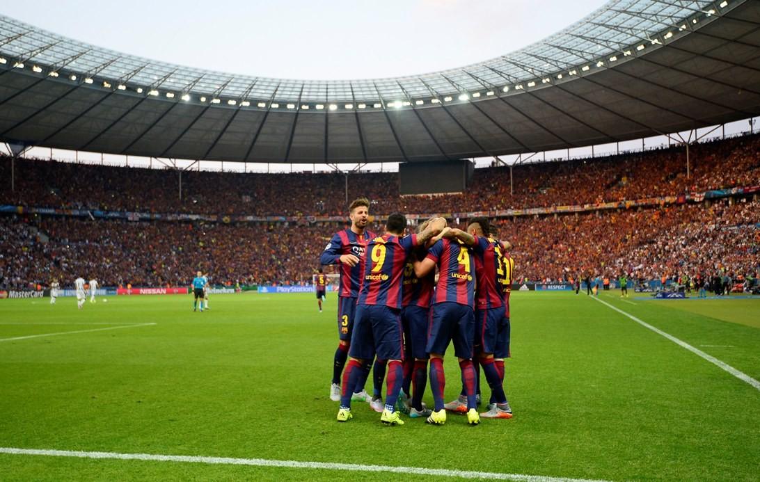 Champions Barcelona Juventus