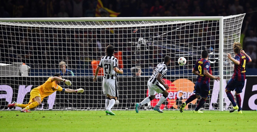 Gol Suárez Barcelona Juventus