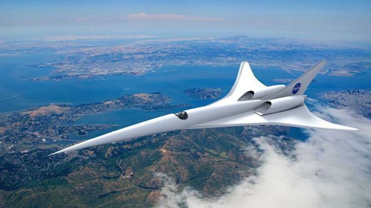 Los revolucionarios aviones supersónicos que proyecta la NASA