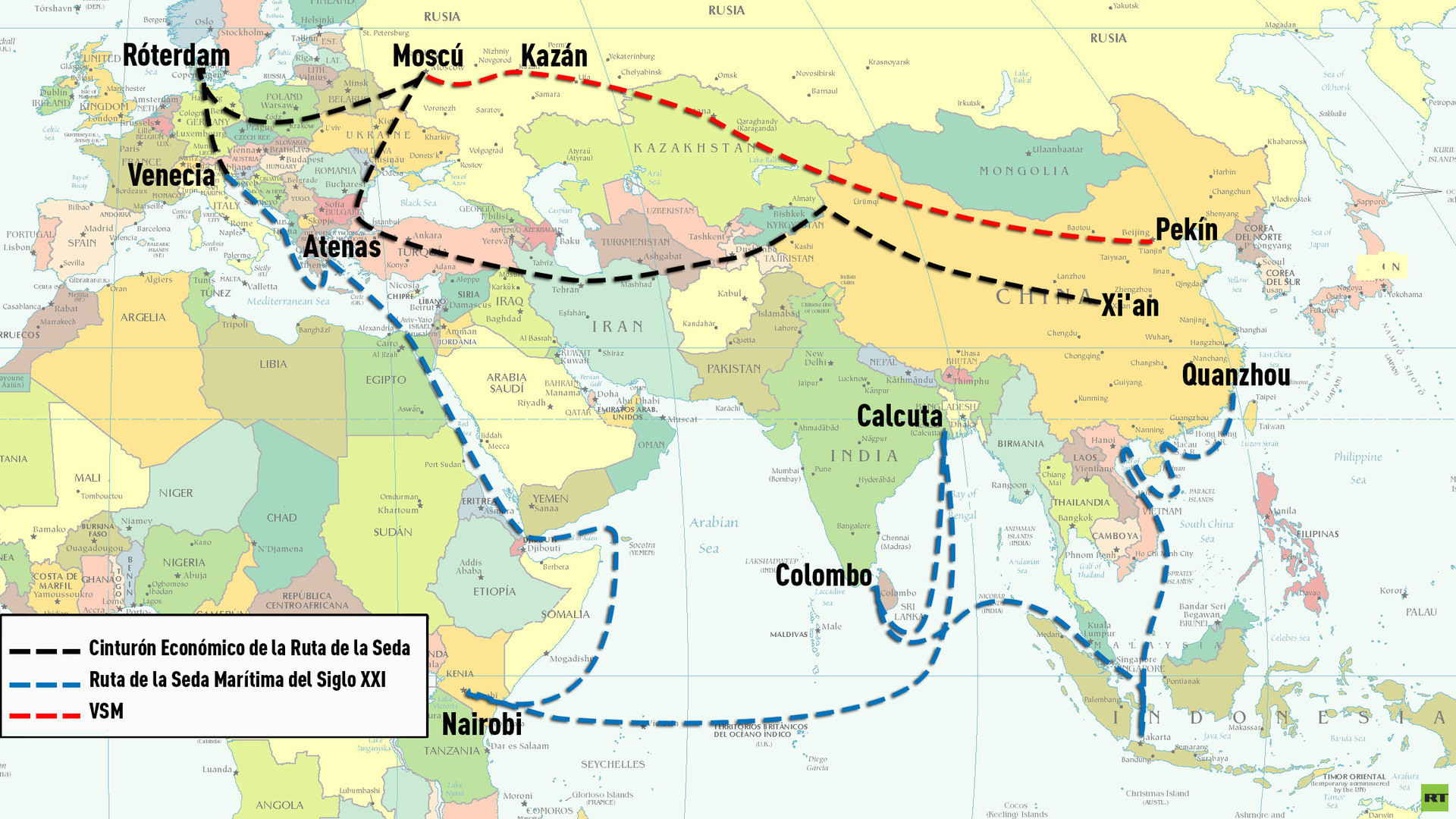 """La Dispersión De Cercano Oriente Al Mundo Ii 1: """"China Construye El Imperio Comercial Global Más Extenso"""