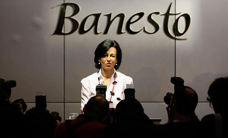 la presidenta del Banco Santander, Ana Patricia Botín